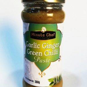 Garlic Ginger Green Chilli - Minute Chef
