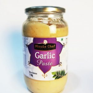 Garlic Paste - Minute Chef