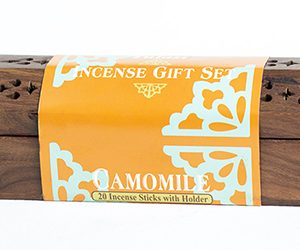 Camomile Incense With Wooden Holder